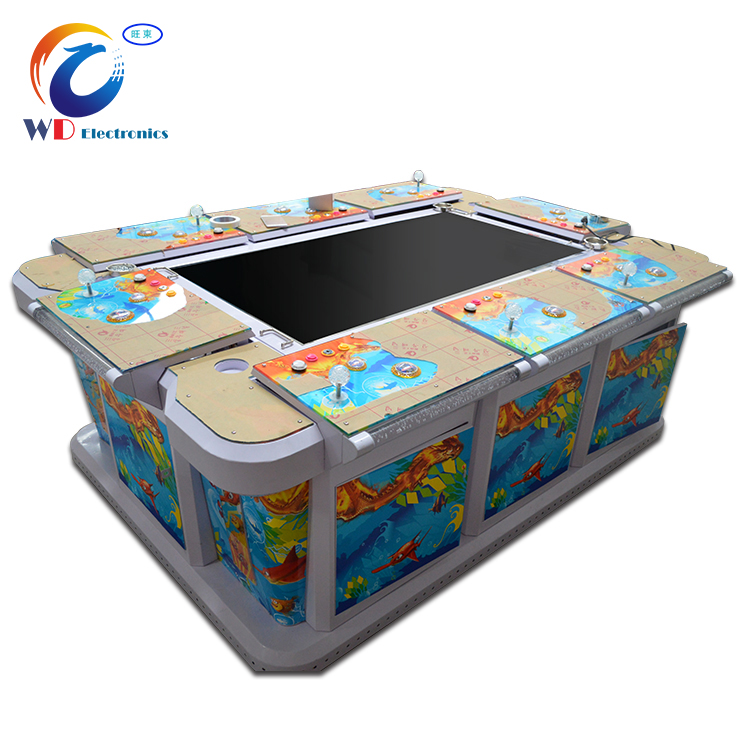 (Red dragon )Latest fishing game machine /3D Video coin operated ocean monster fishing game