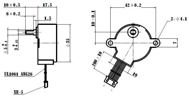12 v 35byj46 stepping motor