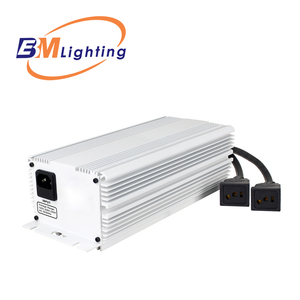high quality low frequency square wave 630w CMH dual output electronic ballast 2 x 315w for pl lamps