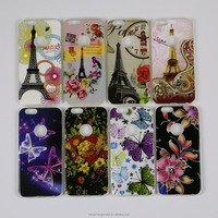 Compatible for iPhone SE IMD In Mold Decoration Printing Ultra Thin TPU Phone Case