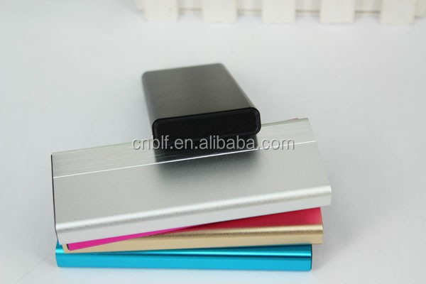 wholesale supplier 2600mah portable ultra thin li polymer power bank