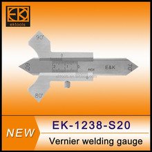 stainless steel mono-block welding caliper