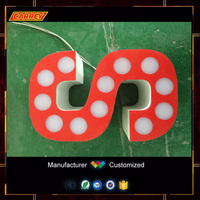 Customized Frontlit Wall art wholesale letters signs