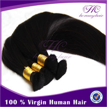 Top Grade 100% Unprocessed Bulk Hair Sample Products For Wig Making