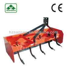 three point tractor box grader blade; box scraper blade for compact tractors