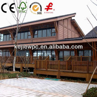 recycled timber grain external wall boards outdoor wood plastic composite wall cladding