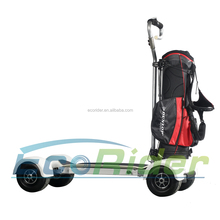 EcoRider golf electric scooter, long board electric skateboard