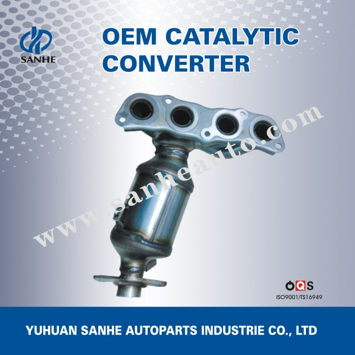 Automotive Part Exhaust Pipe Type Exhaust Manifold