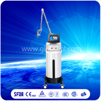 Effective anti aging scar removal rf co2 fractional laser aesthetic device