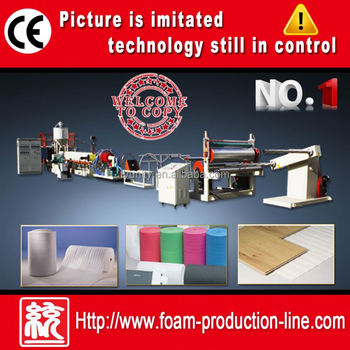 Excellent quality Fashion EPE Foam Sheet Extruder