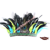 Indian Headdress Material Feather Peacock Feather And Cock Feather For Halloween Items