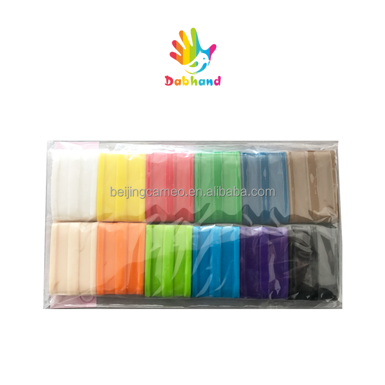 Dabhand Wholesale Polymer Clay 12colors