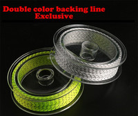 Colorful fly fishing line