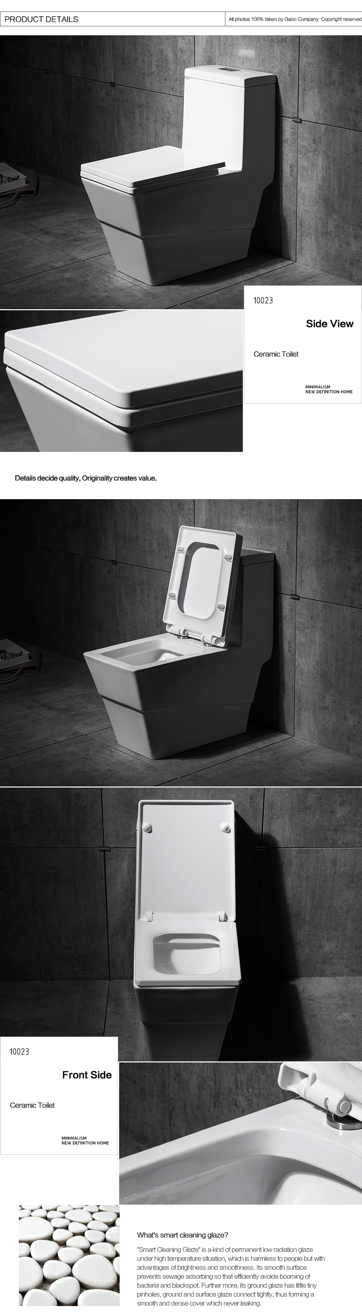 Japan Sanitary Ware One Piece Portable Toilet