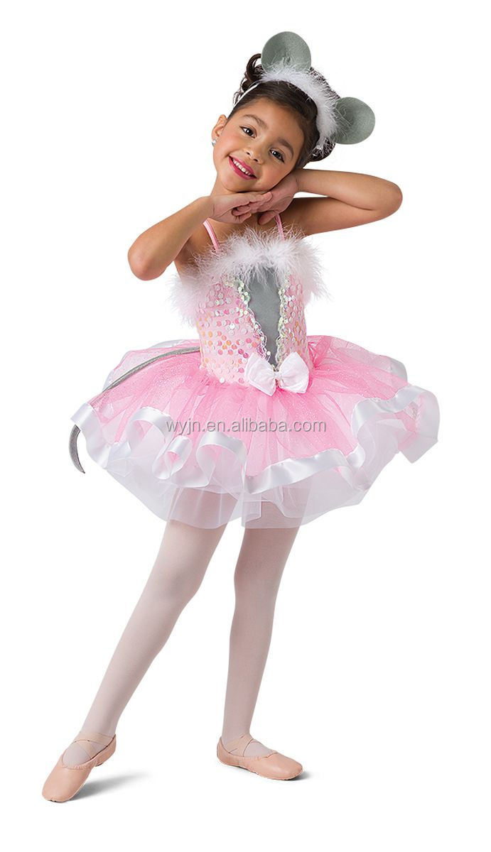 baby girls fantasy costumes ballet tutu mouse performance stage ballet dress western modern dance wear