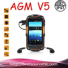 Promotion!Original AGM ROCK V5 Android 3g Mobile Phone Waterproof Dustproof Shockproof Support GPS WIFI Compass