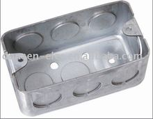 UL Metal outlet box Rectangle steel box