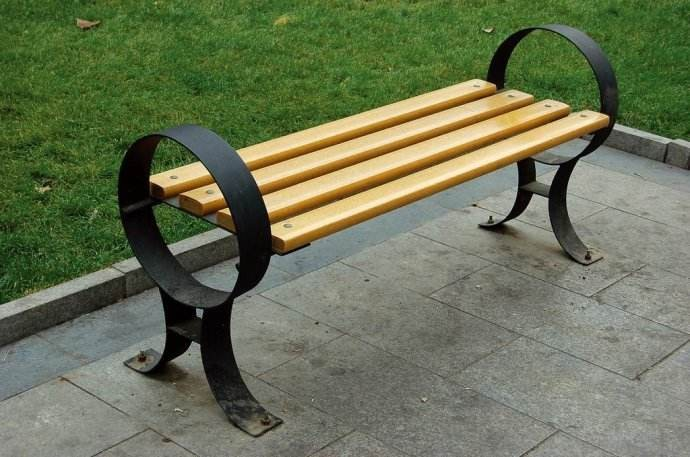 outdoor furniture garden bench cheap with good quality