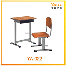 Student desk and chair set for sale cheap school furniture