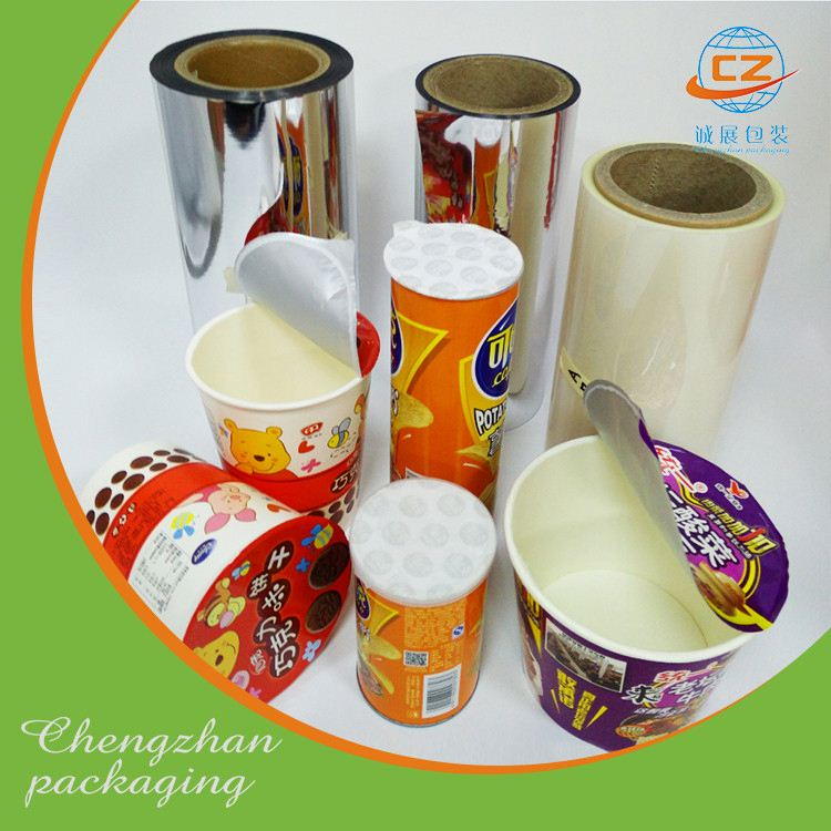Automatic packaging self adhesive plastic candy film roll
