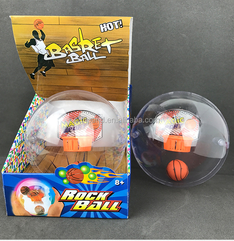 LED Music Hand Anti Stress Basketball Game Toys,Shooting A Basketball Educational Toys For Kids