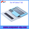 5 color standing PU leather cover case for hp slate 7 tablet