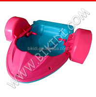 Hot sell summer hand paddle boat/fiberglass rowing boat D4
