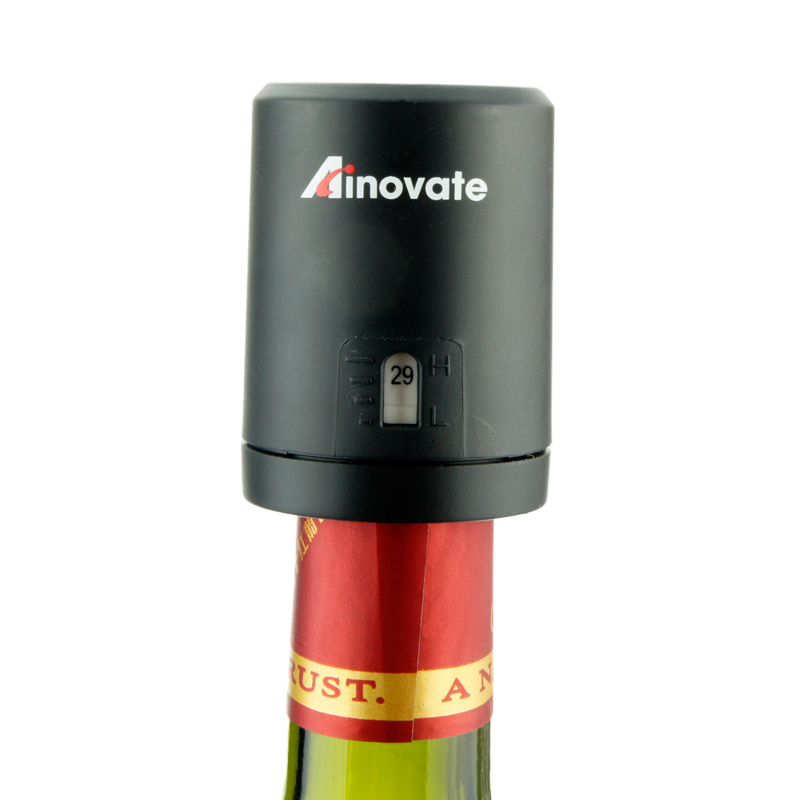 Favorable price plastic mini wine air vacuum pump for bar accessories