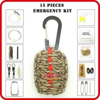 wholesale camping tool kit survival emergency supply list