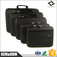 High quality waterproof custom size black EVA laptop case for 11 .6 / 13.3 /15.4 inch laptop