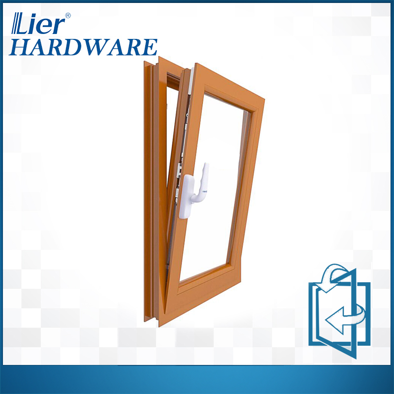 Tilt turn hardware window handle aluminium doors and windows accessories