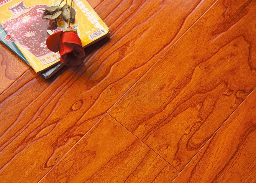 Elm multi-layer engineered wood floor 15mm hot sell manufacturer ABC grade yellow