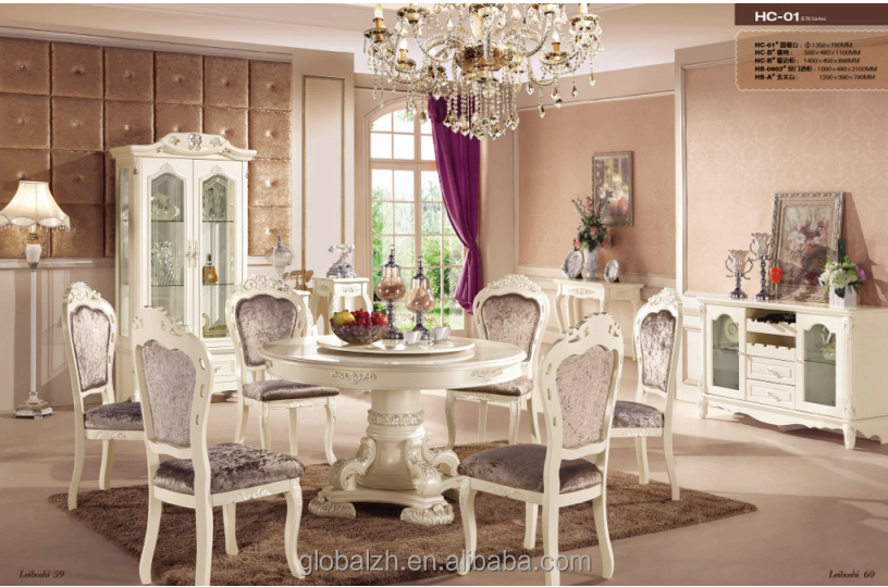 Royal dining room furniture table and chair set