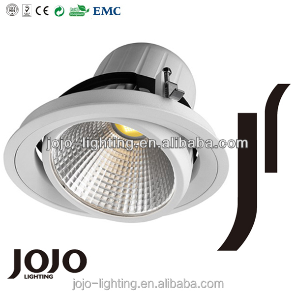 38W COB LED Downlight professional indoor COB led commercial lighting manufacturer
