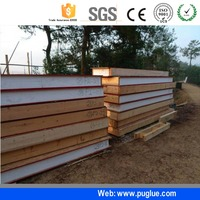 iso and polyol manufacturer flexible polyurethane glue for EPS foam sandwich panel making
