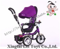 car type metal material ride on toy;children tricycle for sale fence&pushbar large rotate seat,kid tricycle bike 3 AIR/EVA tyres