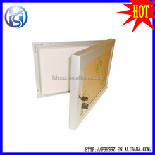A2 Mitred Aluminum Snap Frame with lock, key lock poster frame HS-L01