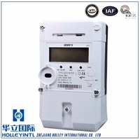 Large-character LCD information auto-scrolling display Single Phase Prepaid digital electrical prepaid meter