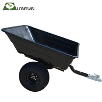 New design camping farm atv log box trailer