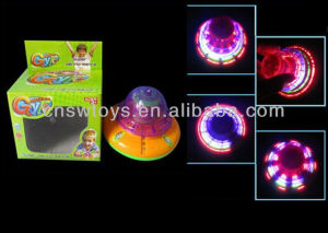 Hot selling kids toy Light Laser Spinning Top toys