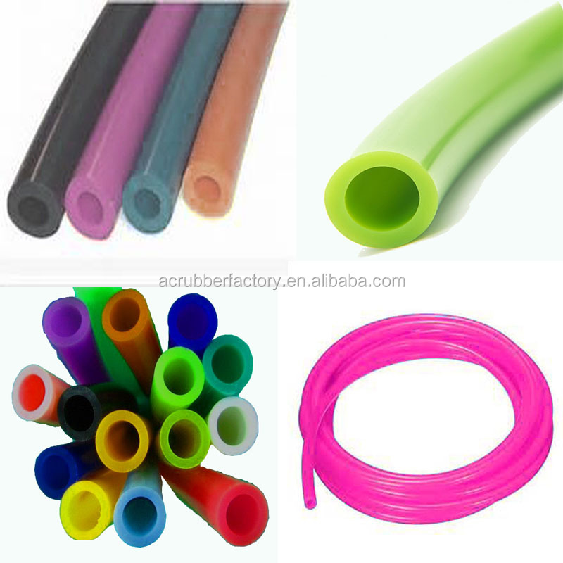 5mm silicone tubing 10mm silicone tubing protective soft transparent colored silicone tubing