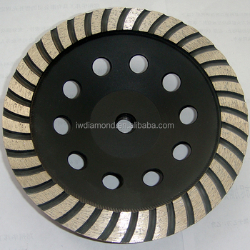 4 8 inch Discs Cup Segmented Dry Cutting Marble And Granite Continuous Turbo Diamond Grinding Wheel For Grinding Stone