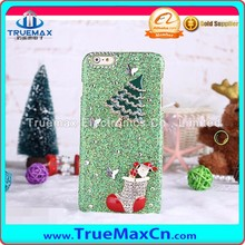 Hot Selling Mobile Phone Case for iPhone 5 5C 5S, for iPhone 5 5C 5S Flash Powder Post Diamonds Case