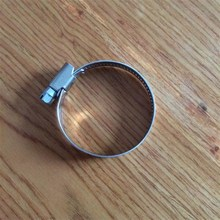 Discoutnt now Manufature Sale Stainless steel 12mm bandwidth German Type Hose Clamp Electrical Cable Couplers 33-57mm