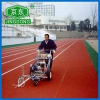 2015 Prefabricated Rubber Athletic Track