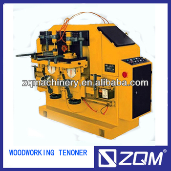 Woodworking mortise and tenon machine