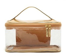 Newest design lighted waterproof pvc cosmetic makeup case