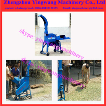 Grass hay chaff silage straw cutting chopping shredding machine