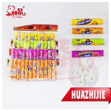 030201610 New fruity tablet whistle roll candy