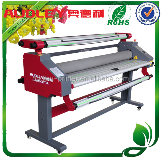 Audley auto dry laminating machine vinyl / paper, low temperature laminator/1600